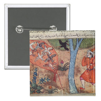 Hunting Birds, from 'The Book of Kalila and Button