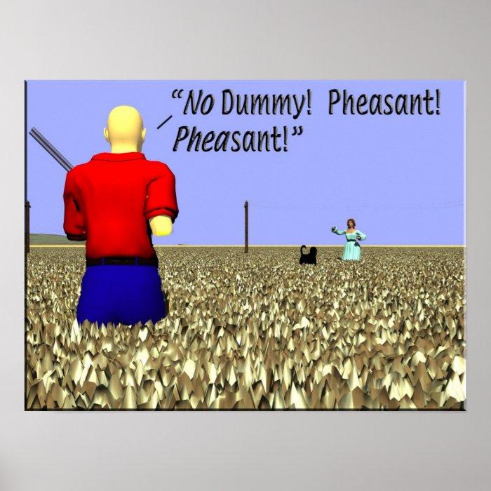 Hunting   Birds   Pheasant Hunting Poster