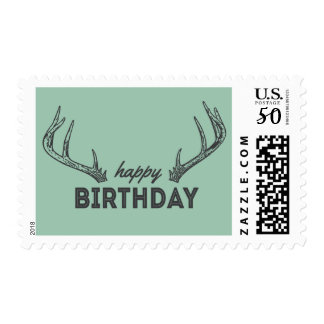 Hunting Birthday Postage for Lil' Hunters