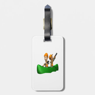 Hunting Boat Tag For Bags