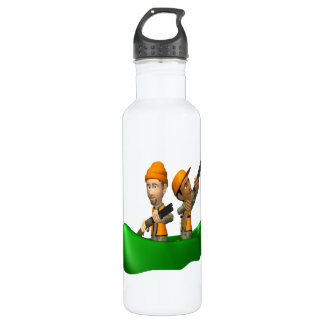 Hunting Boat Stainless Steel Water Bottle