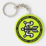 Hunting Bow Emblem Keychain