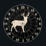 "Hunting Buck Standing  Dart Board 2<br><div class=""desc"">This board features wildlife Deer - a buck with a black  background.</div>"