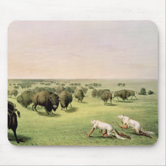 Hunting Buffalo Camouflaged Mouse Pad