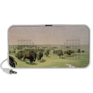 Hunting Buffalo Camouflaged Laptop Speaker