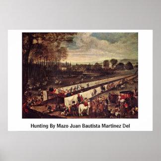 Hunting By Mazo Juan Bautista Martinez Del Posters