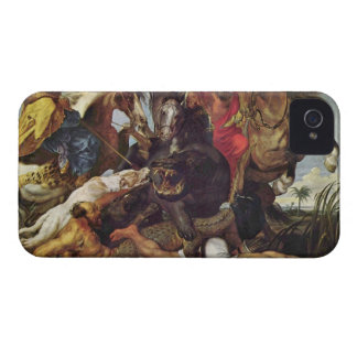 Hunting by Paul Rubens iPhone 4 Covers