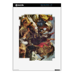Hunting by Paul Rubens Decals For The iPad 2