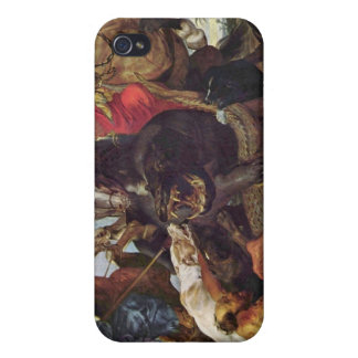 Hunting by Paul Rubens iPhone 4/4S Cover
