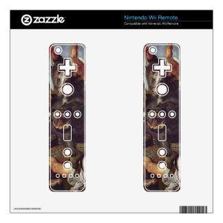 Hunting by Paul Rubens Decal For Wii Remote