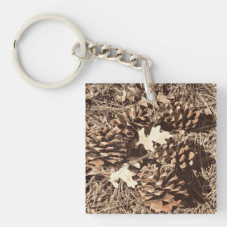 Hunting Camo Camouflage Gifts for Hunters Keychain