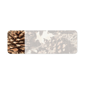 Hunting Camo Camouflage Gifts for Hunters Return Address Label