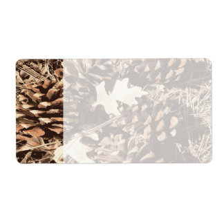 Hunting Camo Camouflage Gifts for Hunters Shipping Label
