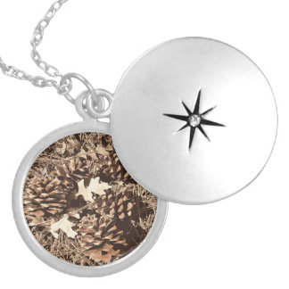 Hunting Camo Camouflage Gifts for Hunters Locket Necklace