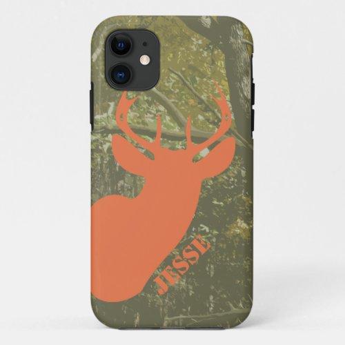 Hunting Camo & Deer Head iPhone 5 Case Phone Case