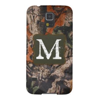 Hunting Camo Hunters Monogram Samsung Galaxy S5 Galaxy S5 Cover