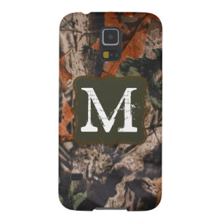 Hunting Camo Hunters Monogram Samsung Galaxy S5 Galaxy S5 Cases