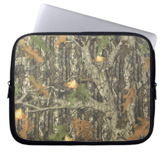 Hunting Camo Laptop Sleeves