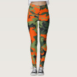 """Hunting Camo Leggings<br><div class=""""desc"""">. You can wear your Hunting Camo leggings over and over and they won't lose their shape. Get comfy and look cool with your own unique pair of leggings!</div>"""