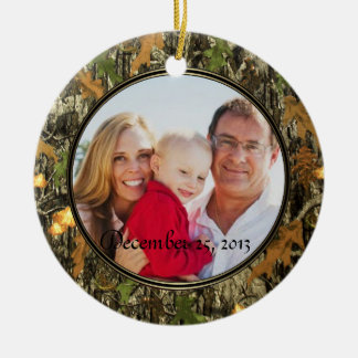 Hunting Camo Ornament