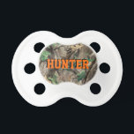 "Hunting Camo Pacifier w/ Personalized Name<br><div class=""desc"">Hunting Camo Pacifier w/ Personalized Name</div>"