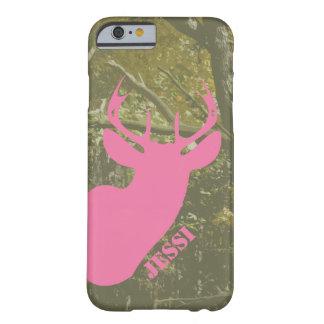 Hunting Camo & Pink Deer Head iPhone 6 Case