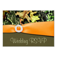 Hunting Camo RSVP Wedding Cards Invitation (<em>$3.00</em>)