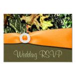 "Hunting Camo RSVP Wedding Cards 3.5"" X 5"" Invitation Card"