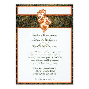 Camo Wedding Invitations   Zazzle