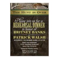 Hunting Camo Wedding Rehearsal Dinner Invitations (<em>$2.05</em>)