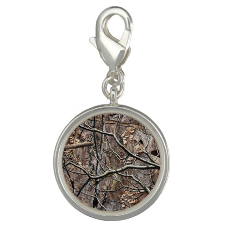 Hunting Camouflage Pattern 8 Charm