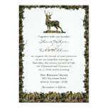 Hunting Camouflage wedding invitation
