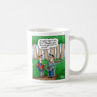Hunting Cartoon Coffee Mug