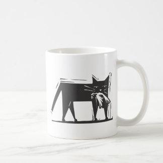 Hunting Cat Coffee Mug