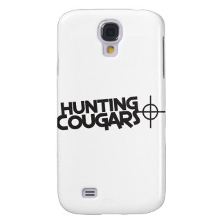 hunting cougars with bullseye and target galaxy s4 cases