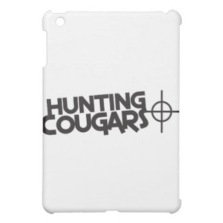 hunting cougars with bullseye and target iPad mini case