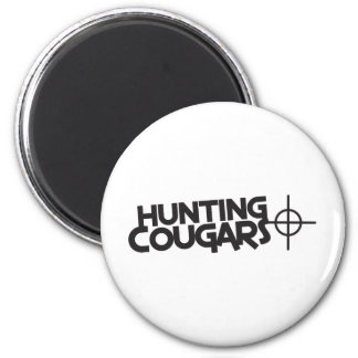 hunting cougars with bullseye and target magnet