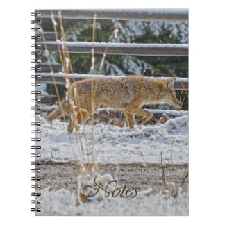 Hunting Coyote Wildlife-supporter Notebook