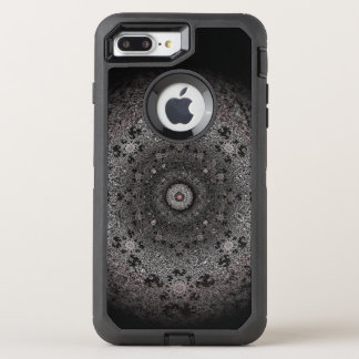 Hunting dark sketch of an eye-like form OtterBox defender iPhone 8 plus/7 plus case