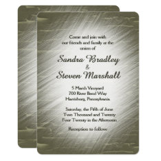 Hunting Design Wedding Invitation at Zazzle