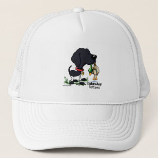Hunting Dog - Black Labrador Retriever hat