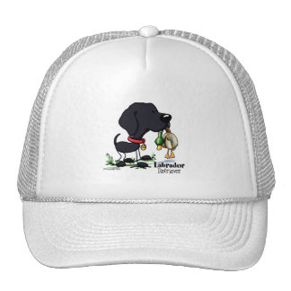 Hunting Dog - Black Labrador Retriever hat