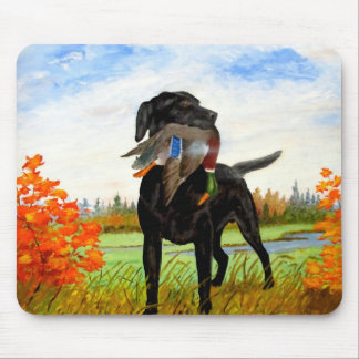 Hunting Dog Mousepad