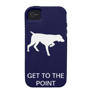 Hunting dog - Pointer - Get to the Point iPhone 4/4S Cover