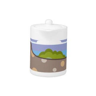 Hunting Dog Teapot