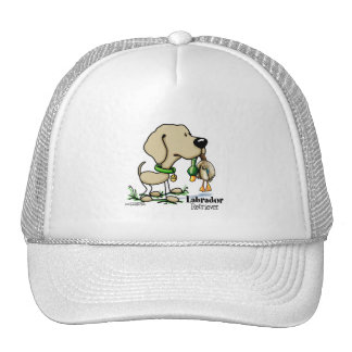 Hunting Dog - Yellow Labrador Retriever hat
