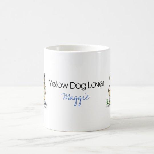 Hunting Dog - Yellow Labrador Retriever mug
