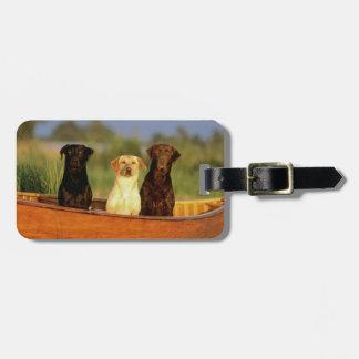 Hunting Dogs Bag Tag