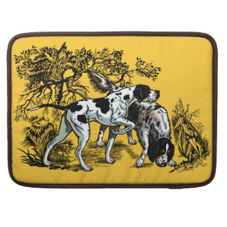 hunting dogs sleeve for MacBooks
