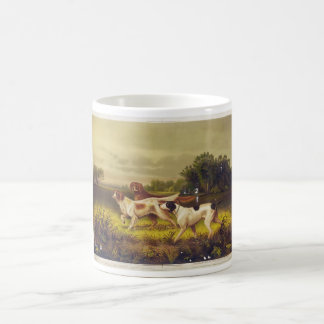 Hunting Dogs Sport in July by Hoover Coffee Mug